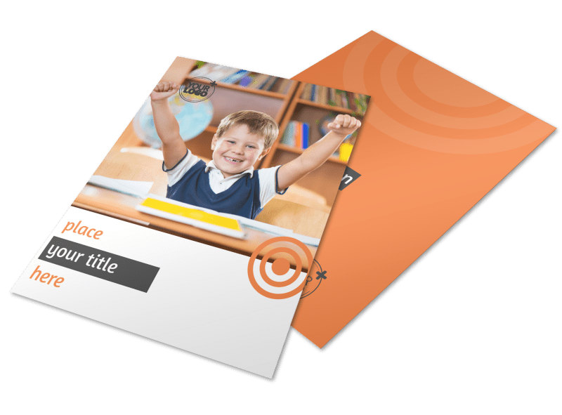 Academic Tutor & School Flyer Template