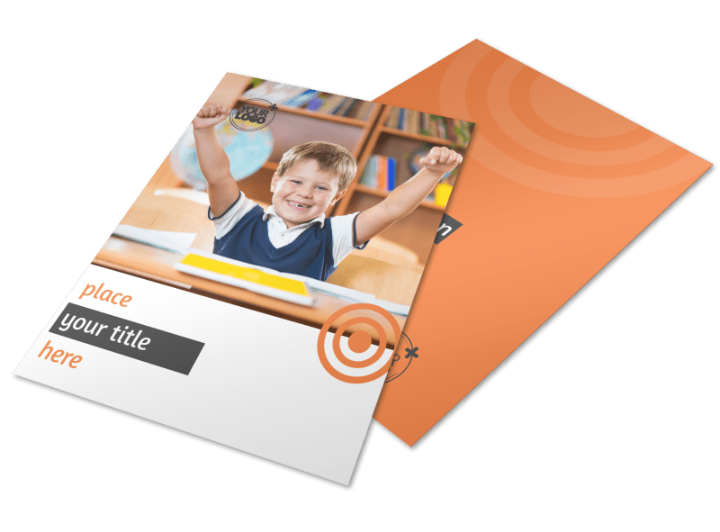 Academic Tutor Flyer Template Preview 1