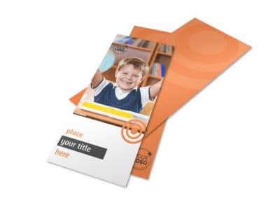 Academic Tutor & School Flyer Template 2 preview