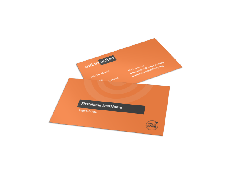 Academic Tutor Business Card Template Preview 1