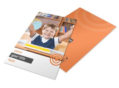 Academic Tutor & School Flyer Template 3 preview