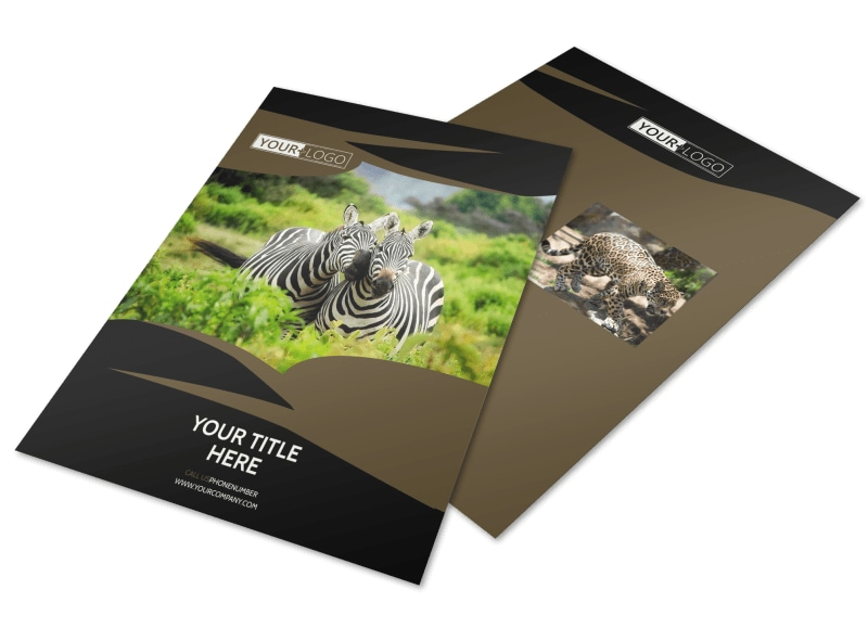 African Safari Flyer Template Preview 4