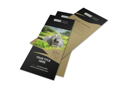 African Safari Flyer Template 2