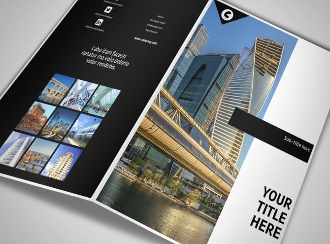 architect  u0026 architectural design services brochure