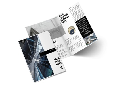 Architect Brochure Template 2