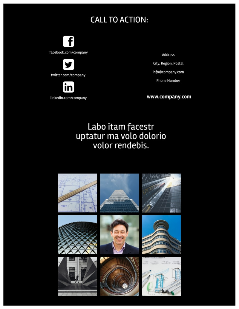 Architectural Firm Flyer Template Preview 3