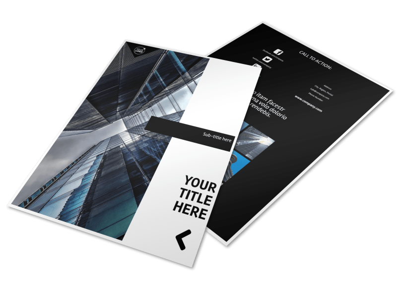 Architectural Firm Flyer Template Preview 1
