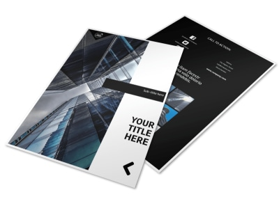 Architect Flyer Template preview