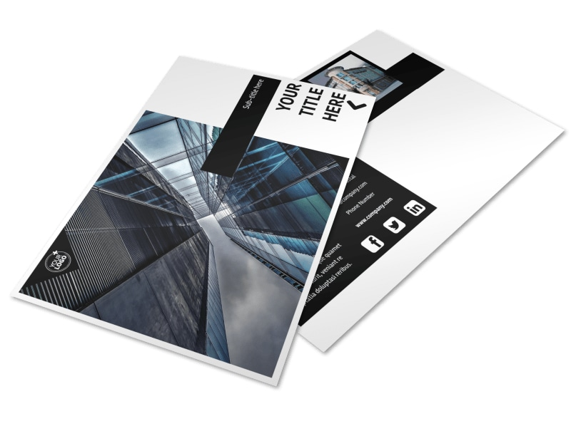 Architectural Firm Brochure Template  Mycreativeshop