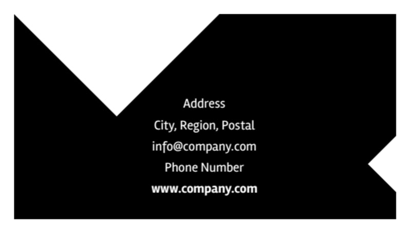 Architectural Firm Business Card Template Preview 3