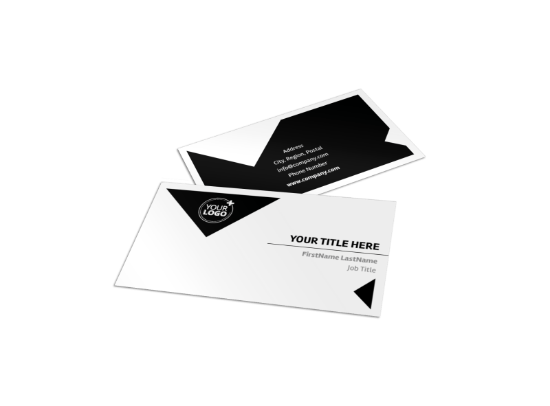 Architectural Firm Business Card Template Preview 1