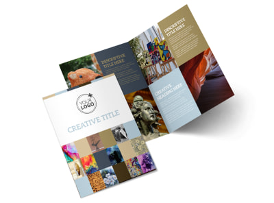 Art Gallery & Artist Brochure Template 2 preview