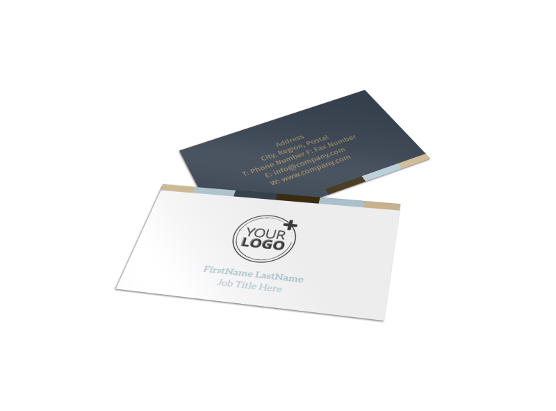 Art Gallery Business Card Template Preview 1