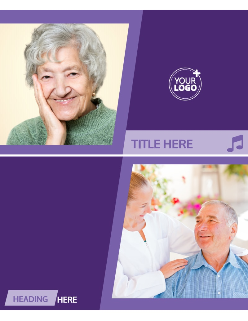 Special Needs Assisted Living Flyer Template Preview 2