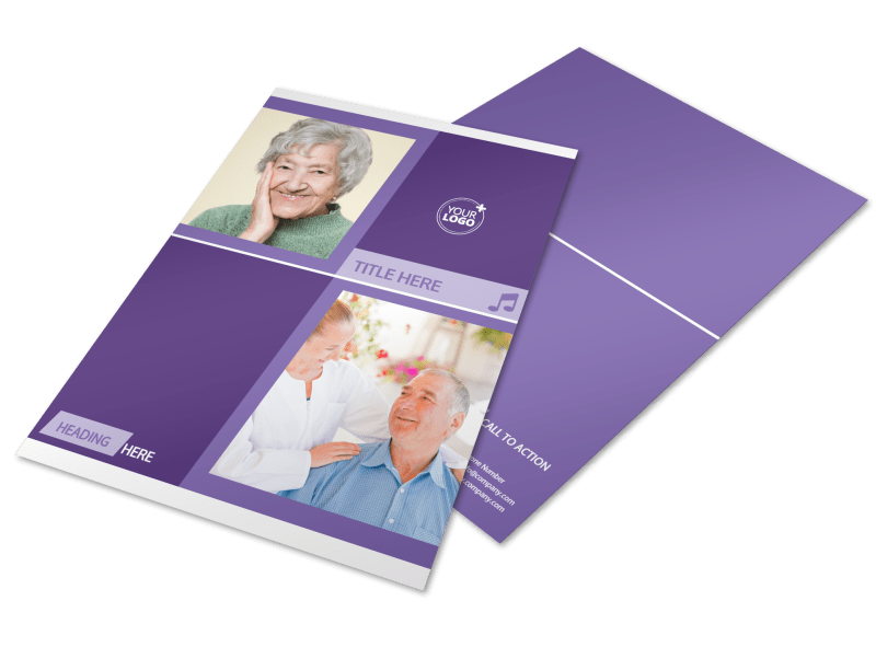 Special Needs Assisted Living Flyer Template Preview 1