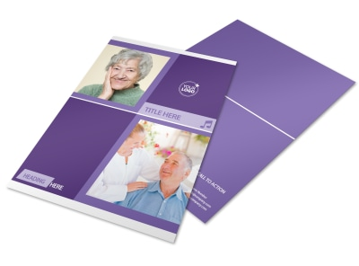 Assisted Living Facility Flyer Template preview