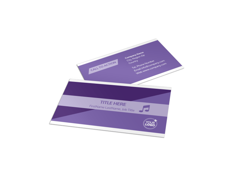 Special Needs Assisted Living Business Card Template Preview 1