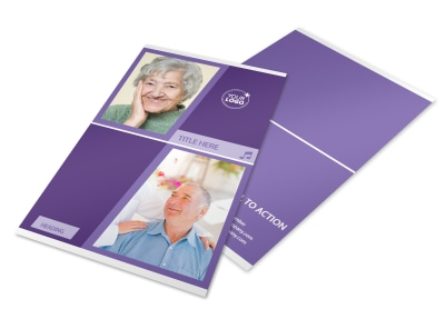 Assisted Living Facility Flyer Template 3 preview