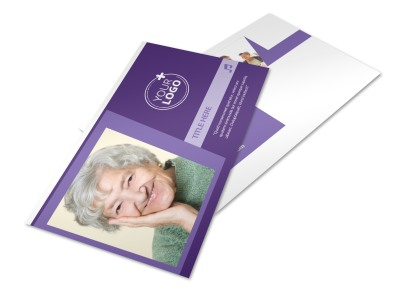 Assisted Living Facility Postcard Template 2