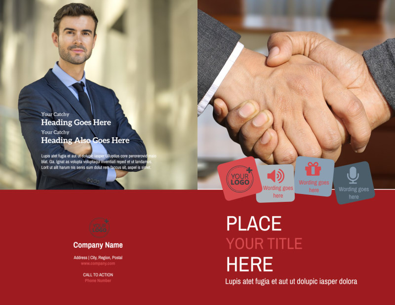 Attorney At Law Brochure Template Preview 2