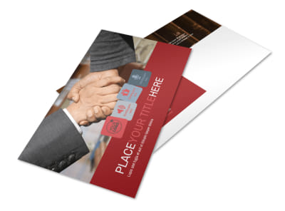 Attorney At Law Postcard Template