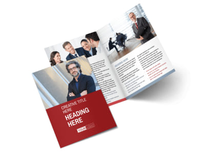 Attorney & Legal Service Bi-Fold Brochure Template 2 preview