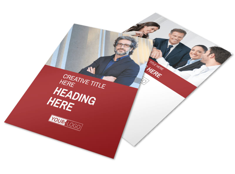 Attorney & Legal Service Flyer Template Preview 4