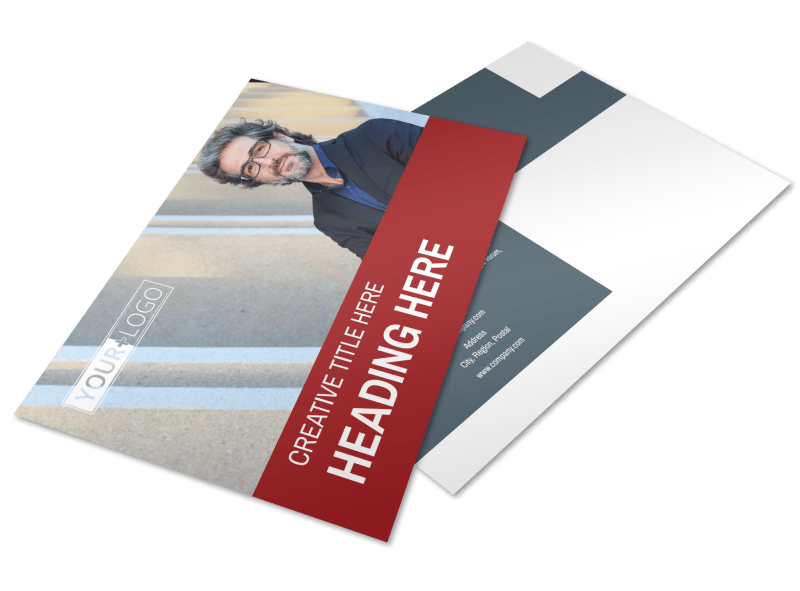 Attorney & Legal Service Postcard Template Preview 1