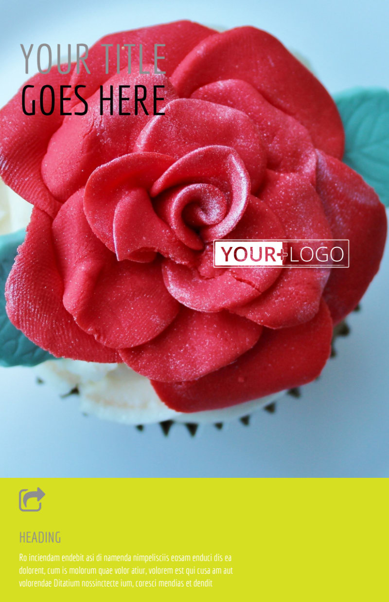 Cupcake Bakery Flyer Template Preview 2