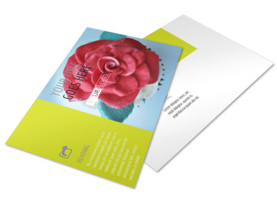 Cake Shop & Bakery Postcard Template 2 preview
