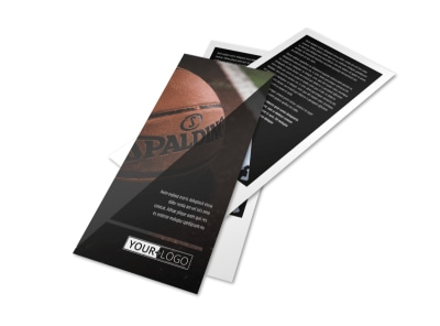 Basketball Sports Camp Flyer Template 2