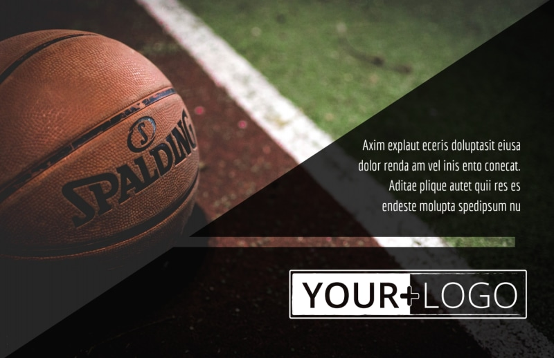 Weekend Basketball Camp Postcard Template Preview 2
