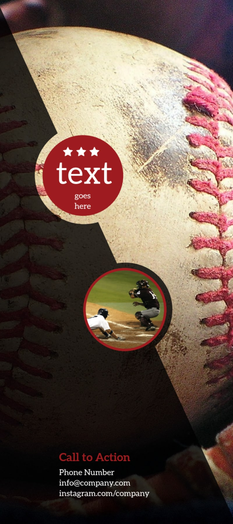 Baseball Camp Flyer Template Preview 3