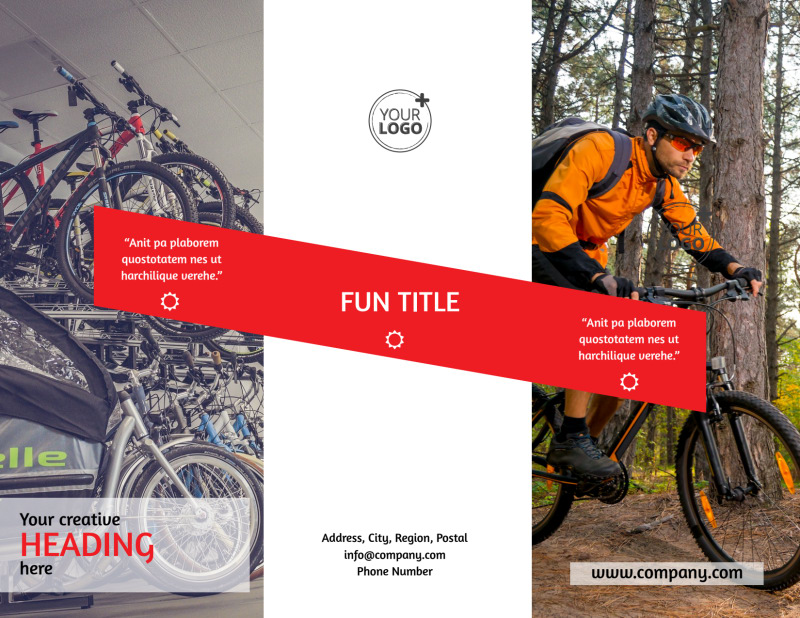 Bike Shop Brochure Template Preview 2