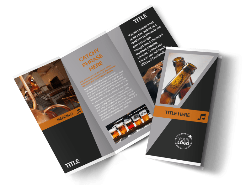 Brewery Brochure Template Preview 1