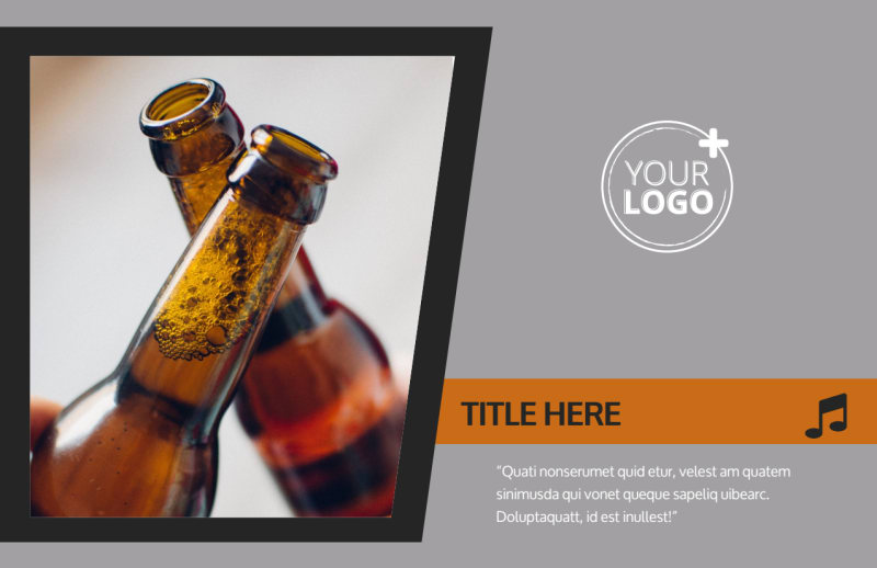 Brewery Postcard Template Preview 2