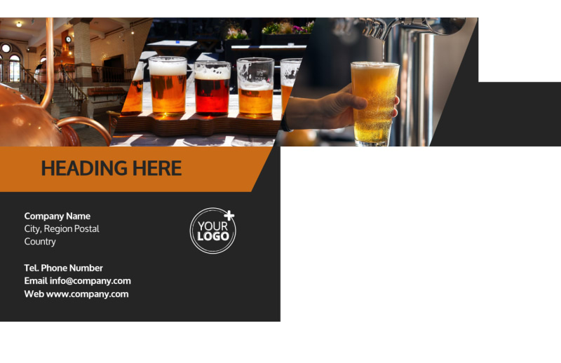 Brewery Postcard Template Preview 3