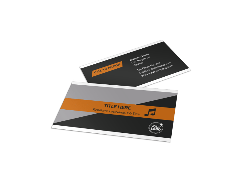 Brewery Business Card Template Preview 1