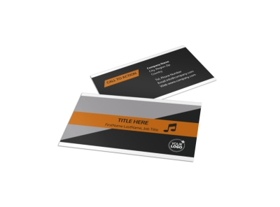 Brewery & Brew Pub Business Card Template preview