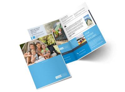 Campgrounds & Recreation Bi-Fold Brochure Template 2