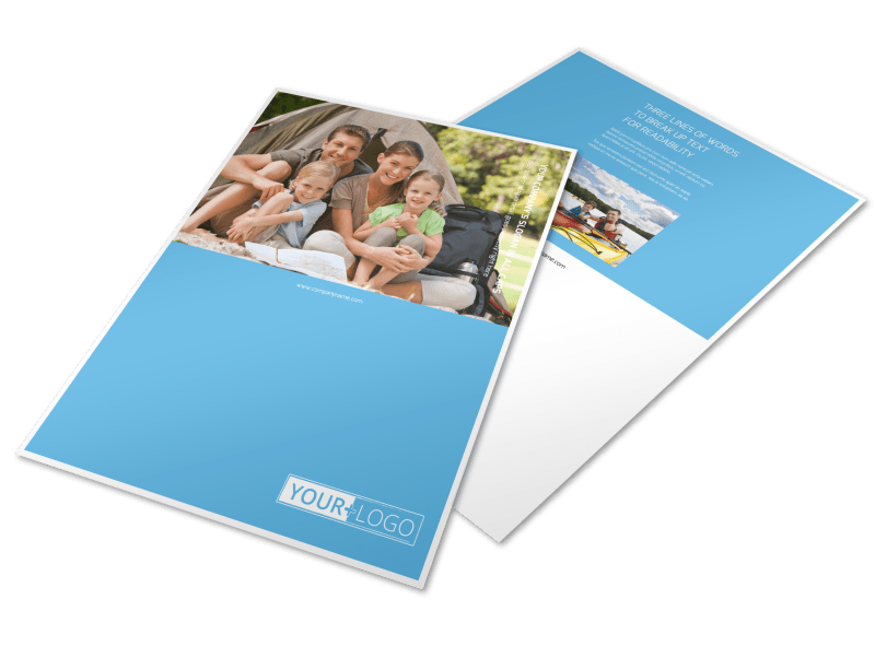 Campgrounds & Recreation Flyer Template Preview 1