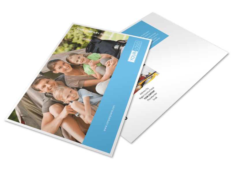 Campgrounds & Recreation Postcard Template Preview 1