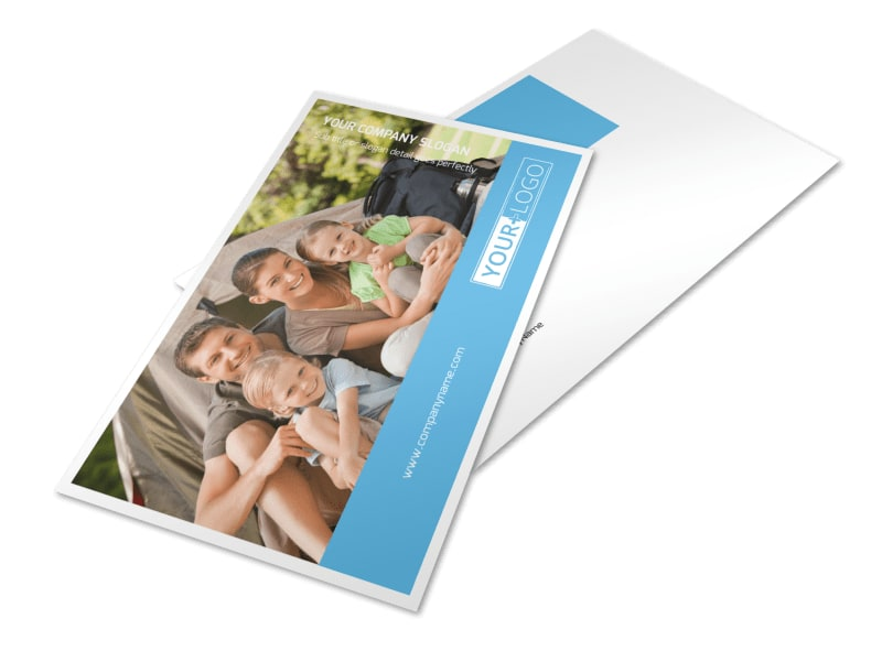 Campgrounds & Recreation Postcard Template Preview 4