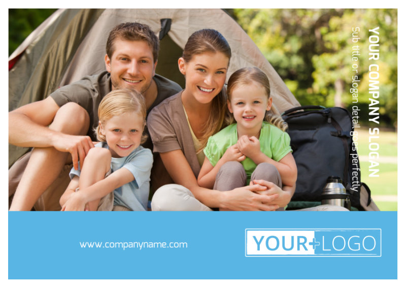 Campgrounds & Recreation Postcard Template Preview 2