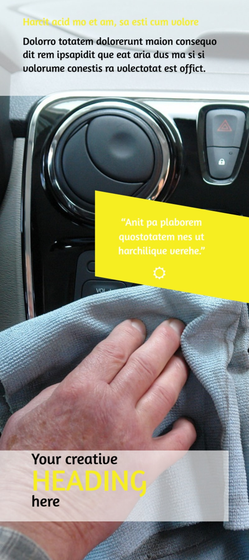 Car Cleaning Flyer Template Preview 3