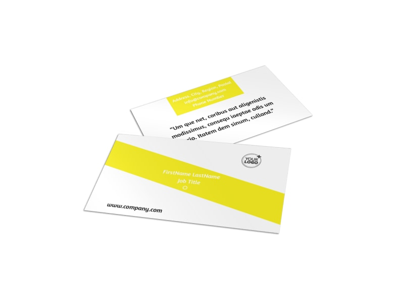 Car Cleaning Business Card Template Preview 4