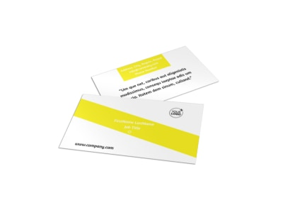 Car Wash Business Card Template preview