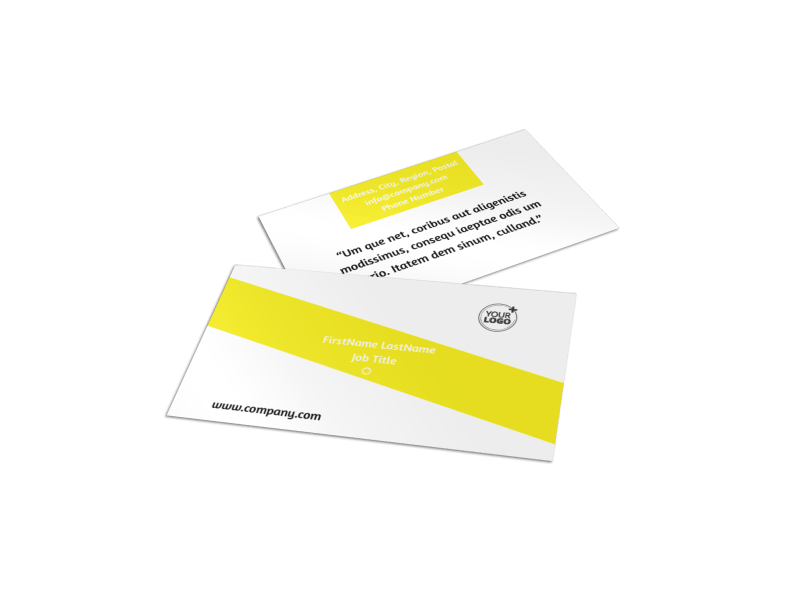 Car Cleaning Business Card Template Preview 1