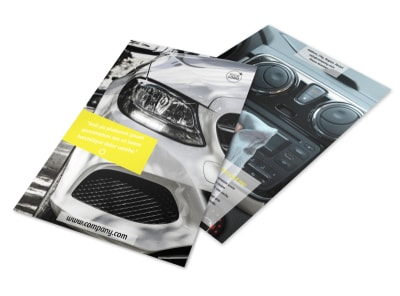 Car Cleaning Flyer Template 3 preview