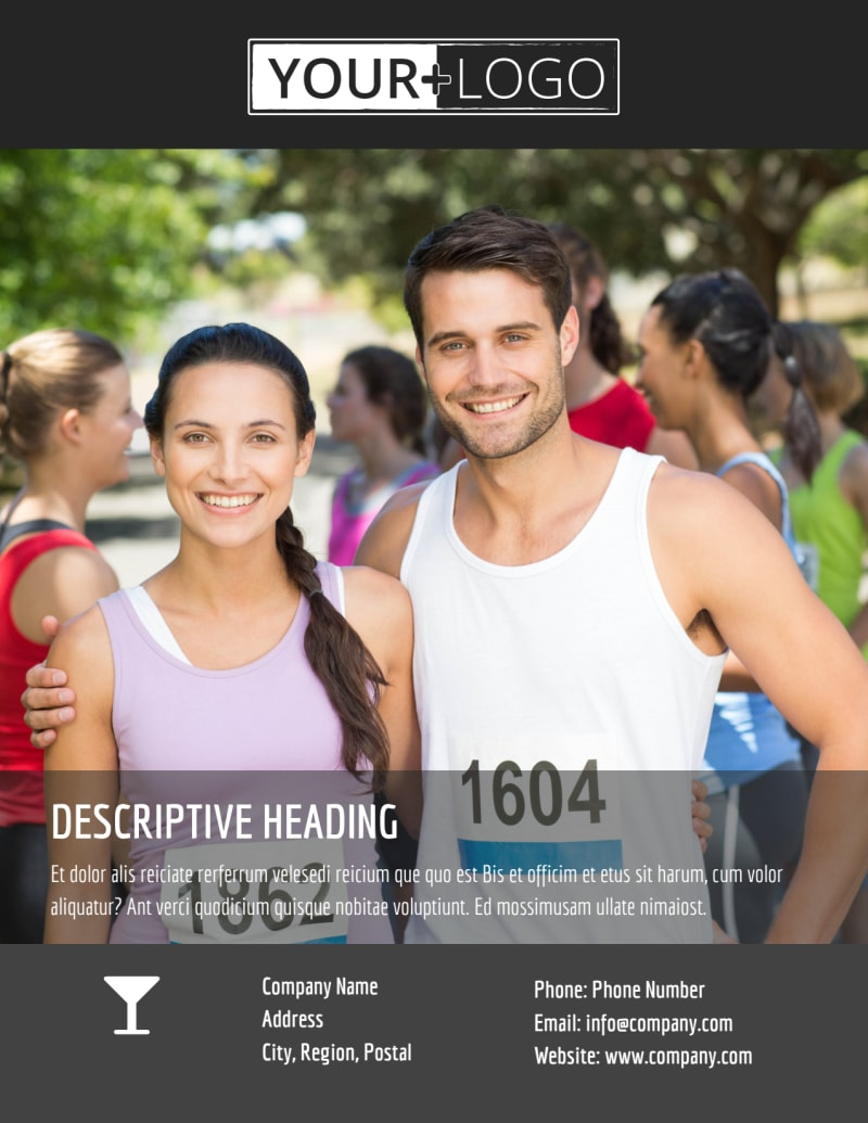 5k Charity Run Flyer Template Preview 3